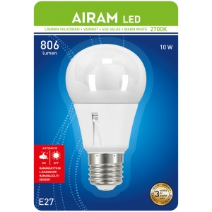 Airam LED E27 10W 806lm 6435200203571.jpg