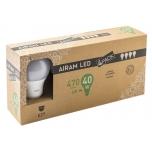 LED pirn Airam 6W/827 230V E27 kompl