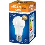LED pirn Airam Oiva 10.5W E27 230V 1060lm 3000K