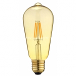 LED pirn FENDE Filament ST64 4W 230V 420lm E27 2700K