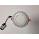 LED allvalgusti süv SUKOON 230V 3W+3W 375lm 3000K-4100K ümar valge
