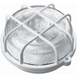 Laeplafoon 40603 IP44 100W E27valge plast-rest ümar