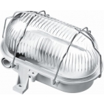Laeplafoon 60W E27 IP44 hall/metall-rest