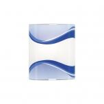 Laeplafoon NAPOLI 100W E27 väike- sinine ruut