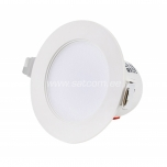 LED allvalgusti süvTesatek 230V 8W 700/800lm  3000/4000/5000K DIM  IP44 valge