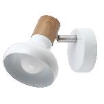 Kohtvalgusti RABALUX Holly E14 valge metall