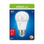LED pirn hämaralülitiga Airam 10W E27 230V 806lm 2700K