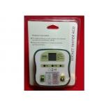Tester Euro DY207 230V pistikupesade kontrollimiseks
